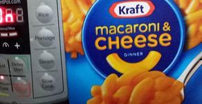 Dehydrating boxed mac 'n cheese