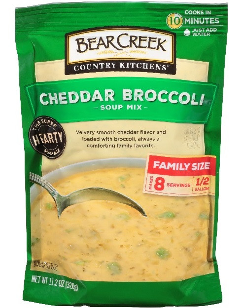 Picture of Bear Creek Country Kitchen Cheddar Broccoli Soup Mix