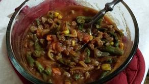 Hamburger veggie soup | Meal-in-a-bag