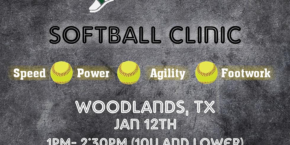 Woodlands Softball Clinic (10u )