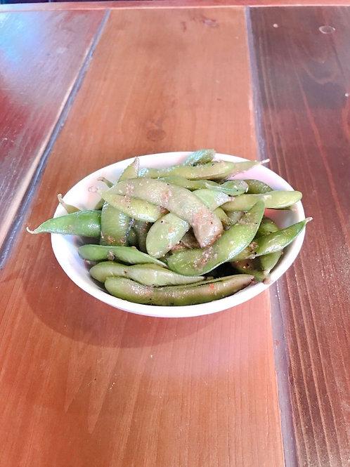 《二クバルダカラ》ガーリックアンチョビ枝豆