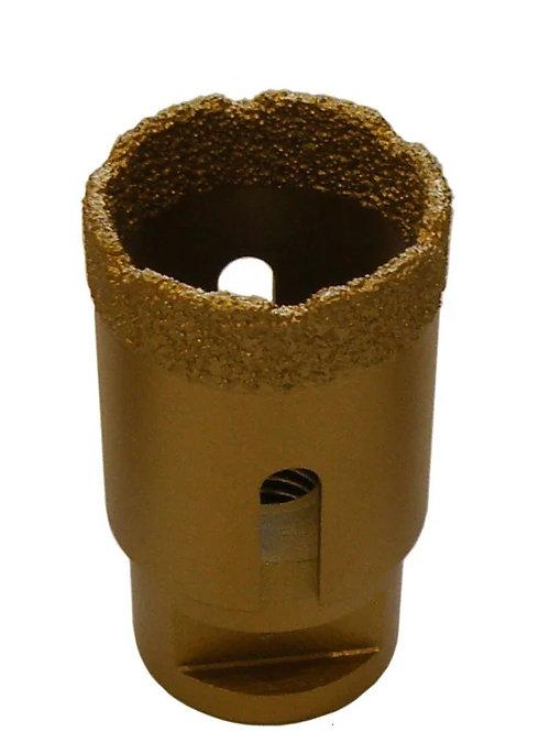 Коронка алмазная для сухого сверления d=35мм (М-14)