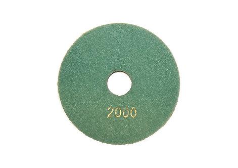 Диск алмазный шлифовальный (Черепашка) 125мм (#2000)