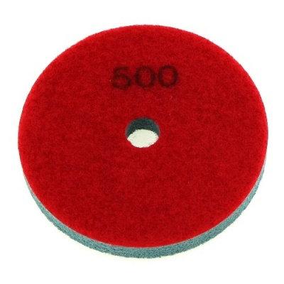 Алмазный полировальный круг тип Спонж d= 100мм  (# 500)