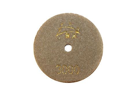 Диск алмазный шлифовальный (Черепашка) 80мм (#3000)