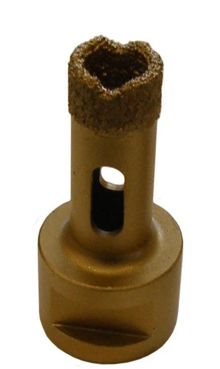 Коронка алмазная для сухого сверления d=18мм (М-14)
