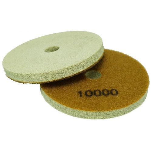 Алмазный полировальный круг тип Спонж d= 100мм  (# 10000)