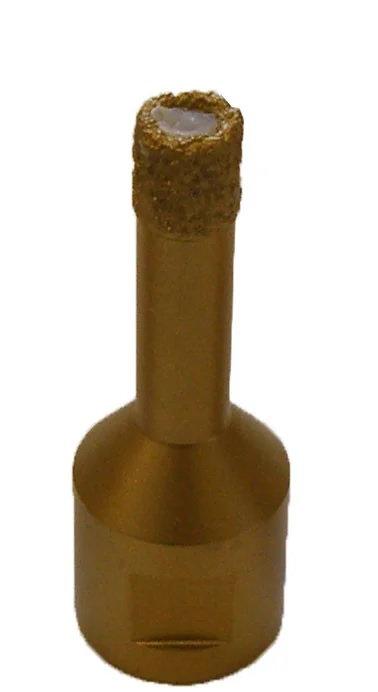 Коронка алмазная для сухого сверления d=10мм (М-14)