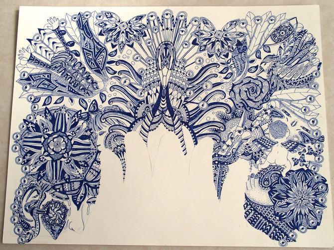 ロンドンの展覧会の絵、完成!