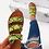 Thumbnail: Women's flat shoes with matching purse set,