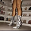 Thumbnail: Lady's Tall Ankle Snake skin Boots