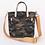 Thumbnail: Camouflage Printed tote bag,
