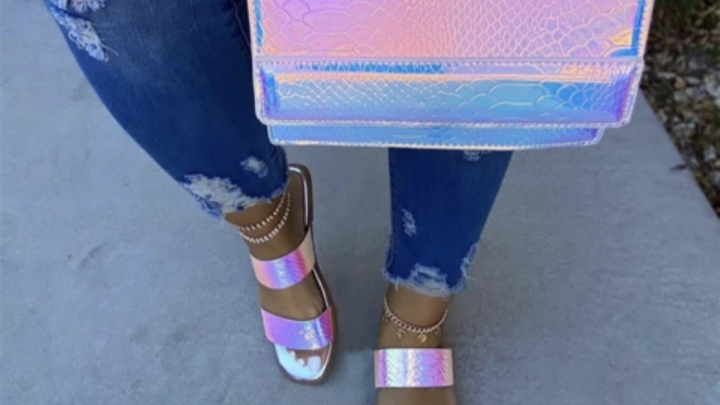 Sandal and Purse Combination