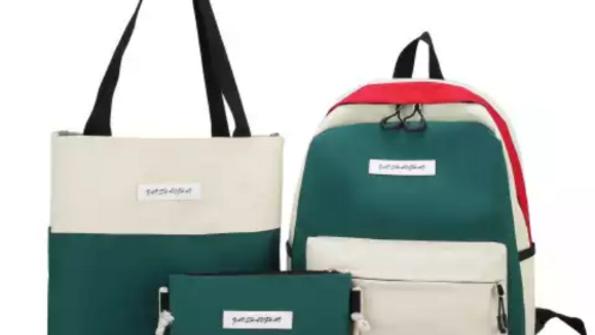 Girls four piece stylish Backpack set