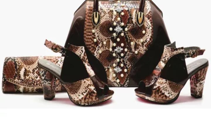 European luxury handbag /sandals