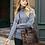 Thumbnail: Leopard design leather bag and shoe set