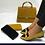 Thumbnail: Women handbag and shoes set,