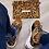 Thumbnail: Snake skin hand bag and shoes set,