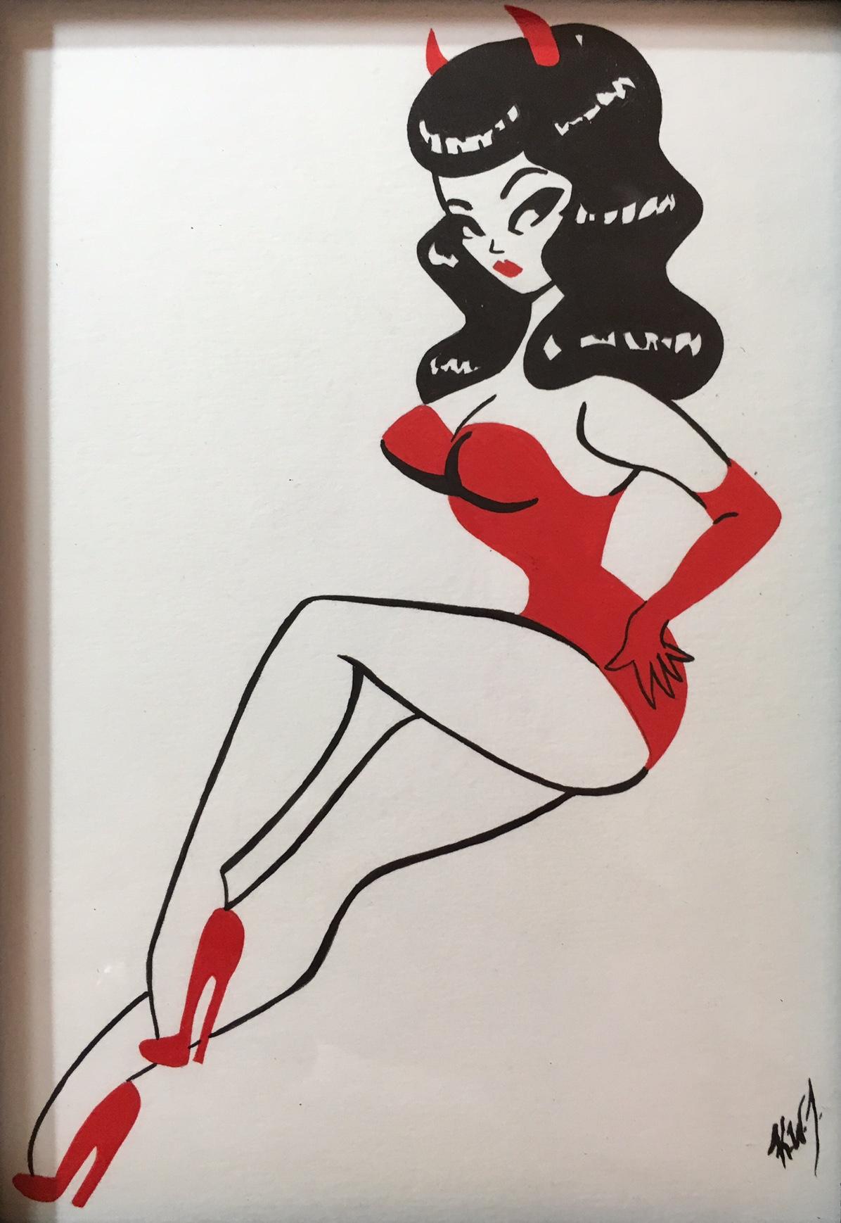 pinup devil girl2