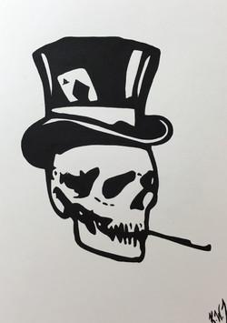 skull tophat