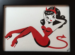 pinup devil girl1