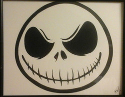 Jack Skellington Smile