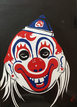 Mike Meyers clown mask