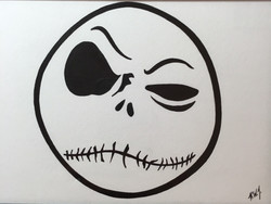 Jack Skellington skeptical