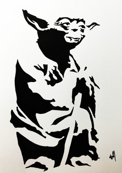 Star Wars Yoda Standing