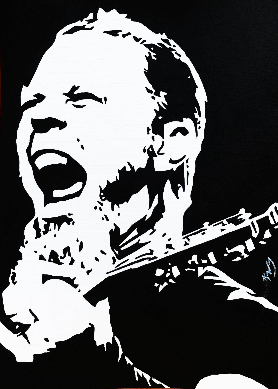 James Hetfield 5X7