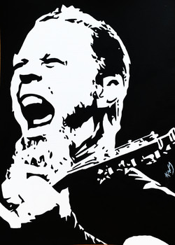 James Hetfield 5X7