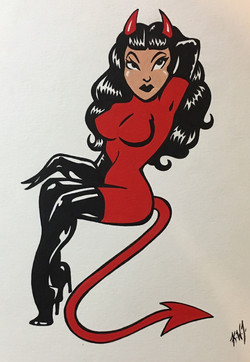 pinup devil girl6
