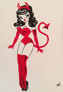 pinup devil girl4