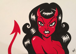 rockabilly devilgirl