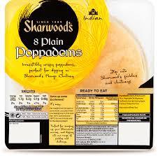 Sharwoods Poppadoms
