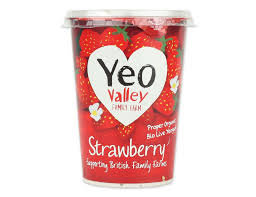 Yeo Valley Strawberry 500g