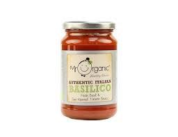 Mr Organico Basilico Sauce