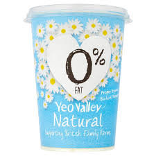 Yeo Valley 0% Natural Yoghurt 500g