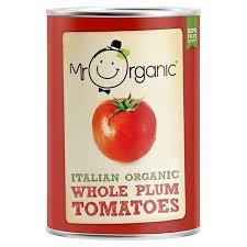 Mr Organic Plum Tomatoes