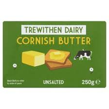 Trewithen unsalted Butter 250g
