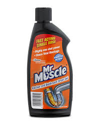Mr Muscle Drain Unblocker