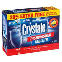 Crystale Dishwasher Tabs
