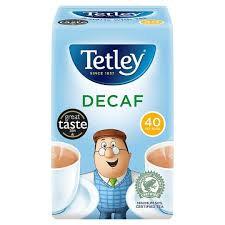 Tetley Decaff Tea