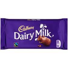 Cadburys Dairy Milk Chocolate