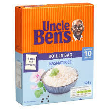 Uncle Bens Boil in the Bag Rice