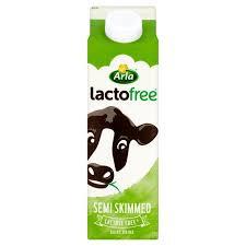 Lactofree Semi Skimmed Milk 1l