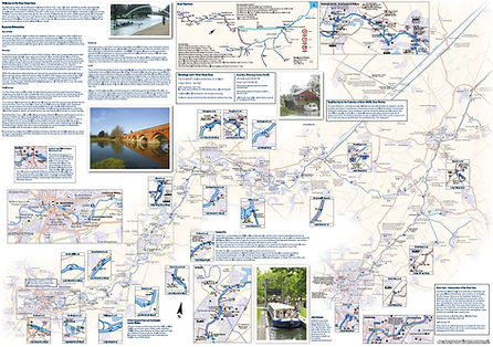 Front side of river Great Ouse map