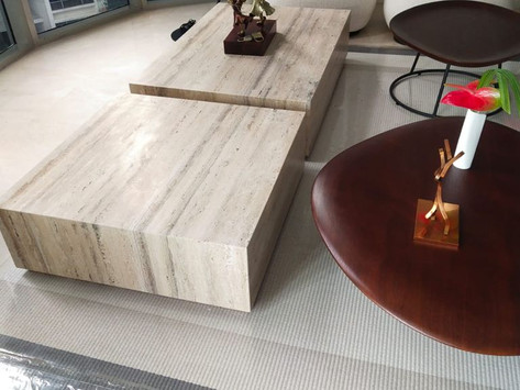 Travertine - Coffee Tables - Natural Stone