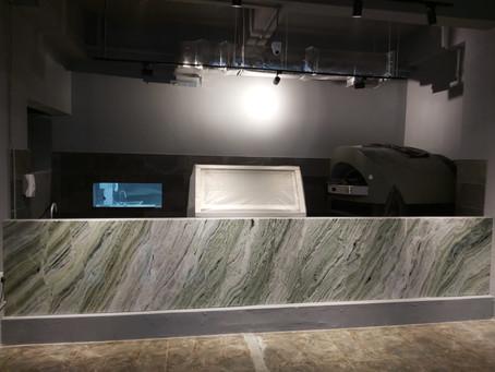 Onyx stone Wall Cladding -Raggio Verde Onyx