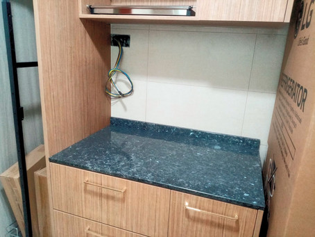Granite Counter Top - Blue Pearl & Antique Pearl Granite